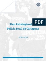 Plan Estrategico de La Policia Local