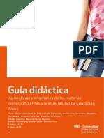 33MSEC. Aprendizaje y Ensen Anza de La Educacio n Fi Sica