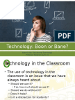 2. Technology Boon or Bane 2