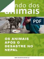 Os Animais Após o Desastre no Nepal