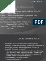1. Syllabus Research
