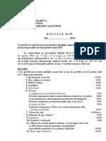 Cu Privire La Aprobarea Taxei Pentru Unităţile Comerciale Şi Sau de Prestări Servicii Pentru Anul 2017