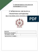HMT Lab Manual,Edited