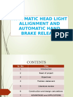 head li8 + hand brake with calculations