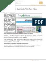 V Convegno Nazionale di Apicoltura Urbana - Il Mascalzone.it, 15 ottobre 2016