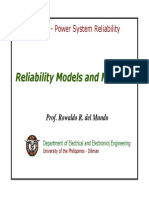 EE353 Notes No. 1 - Reliability Models and Methods