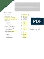 Column Base Plate Eurocode Ods File