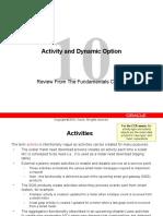 10_Activity and Dynamic Option BO