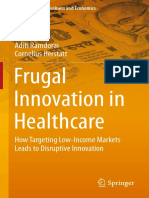 (India Studies in Business and Economics) Aditi Ramdorai, Cornelius Herstatt (Auth.)-Frugal Innovation in Healthcare_ How Targeting Low-Income Markets Leads to Disruptive Innovation-Springer Internati