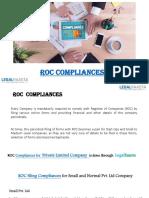 ROC Compliances