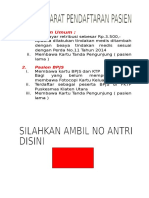 Syarat pendaftaran