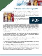 Varun Beverages IPO