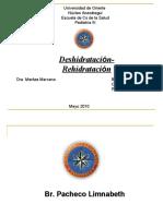 DESHIDRATACION-REHIDRATACION