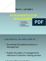 EMGT101 LEC4 Organization and Structure