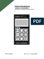 manual MMX 6