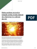 Vitamina D – Brasil
