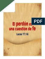 El perdón es una cuestión de fe - Jorge Olivares