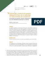 Victimología y género