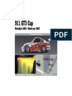 Porsche 911 GT3 Cup 2003 Service Information