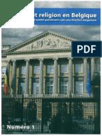 Politique et religion en Belgique Comment un problème de société grandissant a pris une direction dangereuse