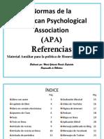 Ejemplos de Referencia Apa
