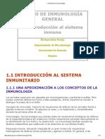 1_ Introducción a La Inmunología
