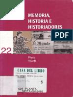 Vilar Pierre - Memoria Historia E Historiadores.pdf