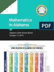 ALSDE Worksession Presentation 10-13-16 Math Strategy