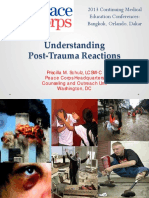 Peace Corps SA OSS Training Understanding PTSD Post Traumatic Stress Disorder(s)
