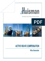 Active Heave Compensation Systems