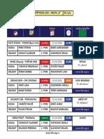 medjuopstinska liga - grupa b - delegiranje - 8  kolo 0