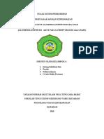 makalah glomerulonefritis