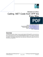 Calling .NET Code From VFP the Easy Way