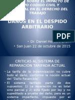 Jornadas en San Juan Daños en El Despido Arbitrario Brain