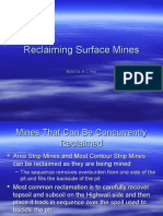 Lecture 13alt Reclaiming Surface Mines