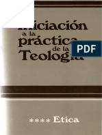 04 Iniciación a la práctica de la Teología. Ética