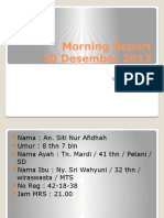 Morning Report 20 Des 2013.pptx