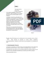 Informe de Fluorita