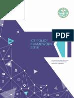 Telangana ICT Policy Framework 2016