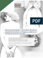 Derechos formales - derechos efectivos