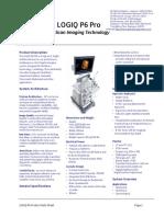 LOGIQ-P6 datasheet