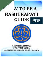 How to Be a Rashtrapati Guide- A Teaching Manual by Devishi Sarda