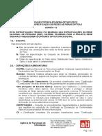 Especificação de Redes de Fibras Ópticas