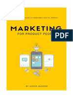 Marketing for Product People Sample