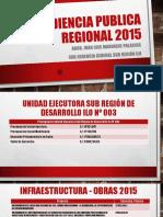 2. Audiencia Publica Regional 2015 - Gsr Ilo