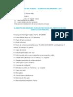 Inventario Del Puesto y Elementos de Servagro Ltda