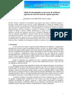 A Prática de Medição de Desempenho No Processo de Melhoria Contínua de Empresas Do Setor de Bens de Capital Agrícolas