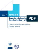 Informe de Coyuntura Laboral en América Latina y el Caribe