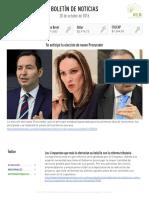 Boletín de noticias KLR 20OCT2016