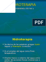 Hidroterapia IST